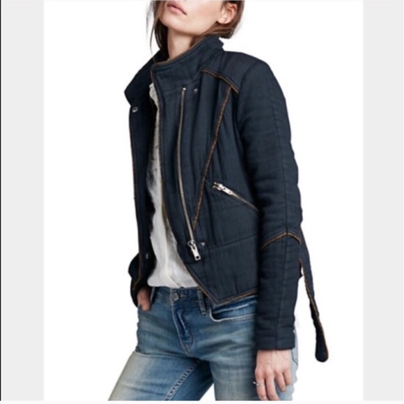 Free People Jackets & Blazers - Free People Moto Jacket
